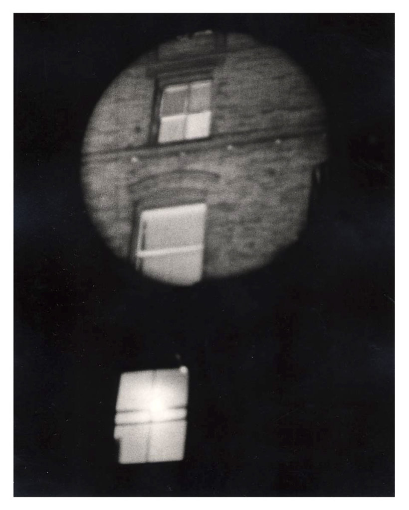 """Watch Out"", collaboration with      Gordon Matta-Clark, 1975"