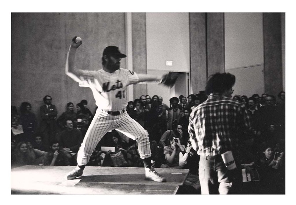 """Home Run - Run Home"" at The MoMA, NYC, 1977"